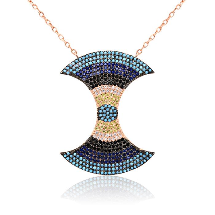 Vergina mosaic ezust ekszer 036