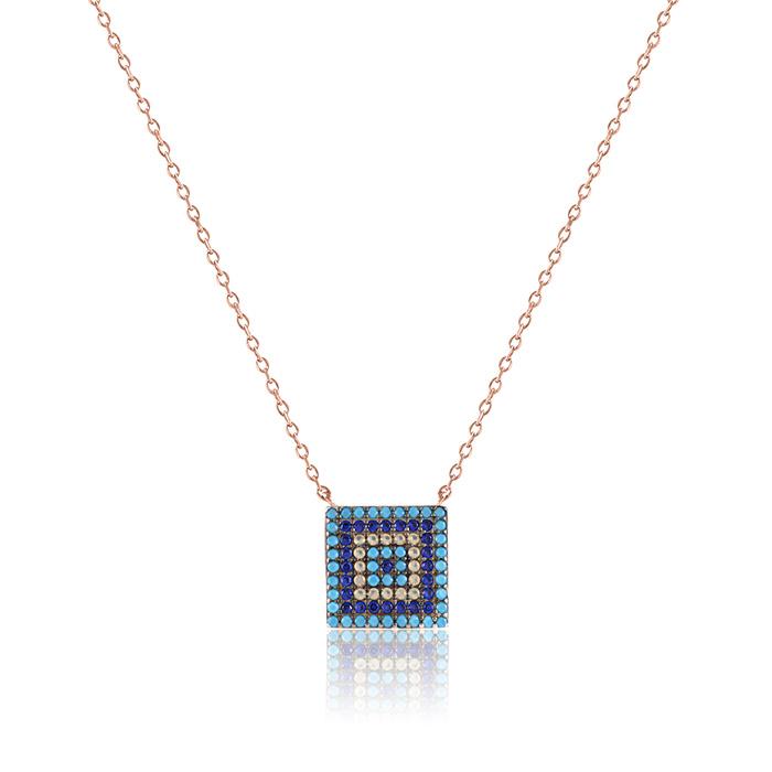 Vergina mosaic ezust ekszer 114