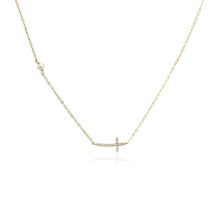 Vergina nyaklanc arany ekszer 016
