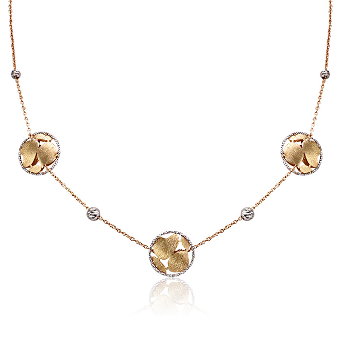 Vergina nyaklanc arany ekszer 025