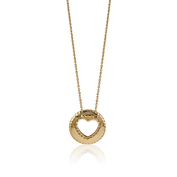 Vergina nyaklanc arany ekszer 028