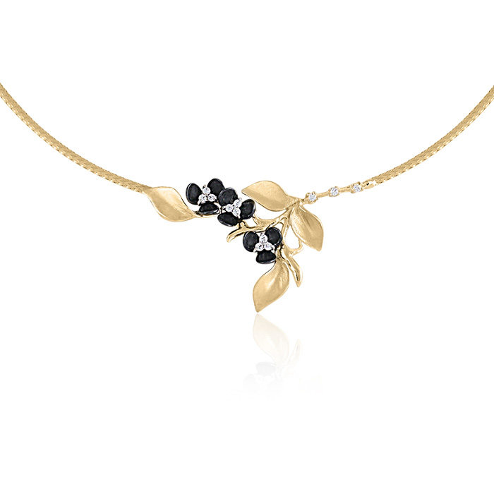 Vergina nyaklanc arany ekszer 077
