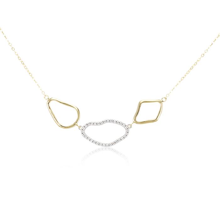 Vergina nyaklanc arany ekszer 084